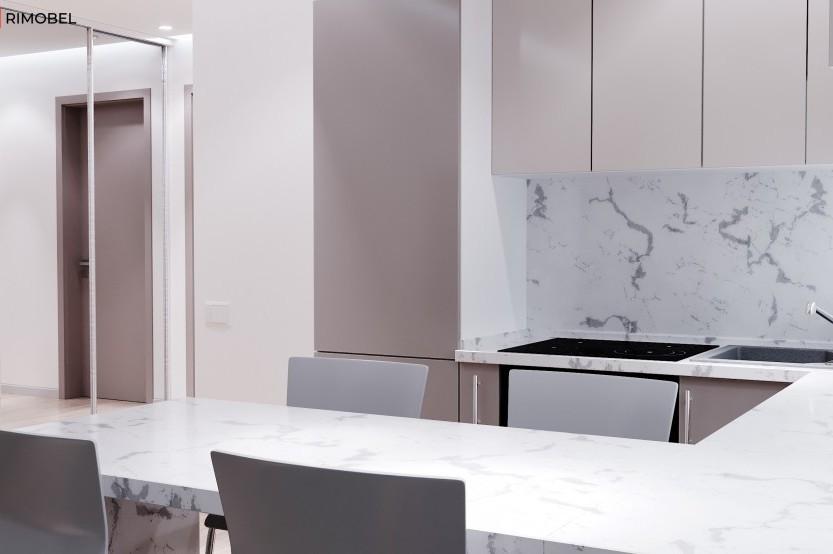 Кухня модерн, Кожушна, улица Молодёжи, 19 Современные кухни la comanda