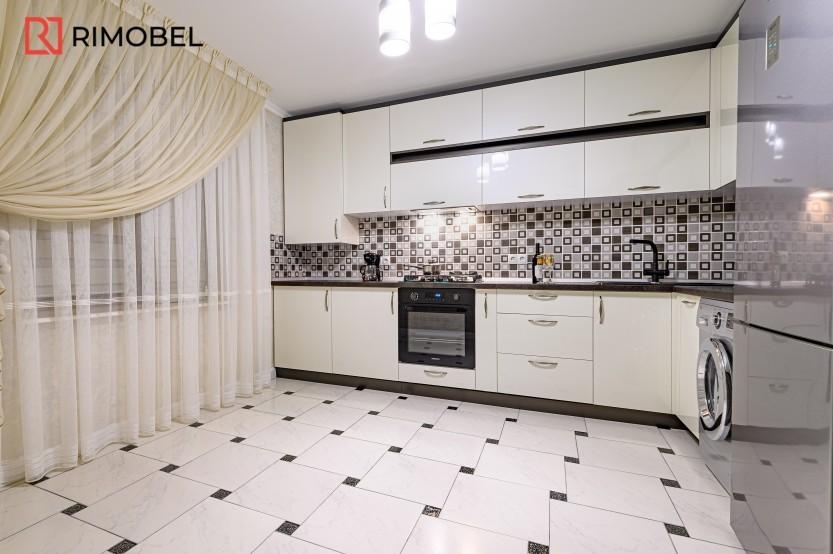 Bucătărie albă stil modern or. Durlești Bucătării moderne mobila