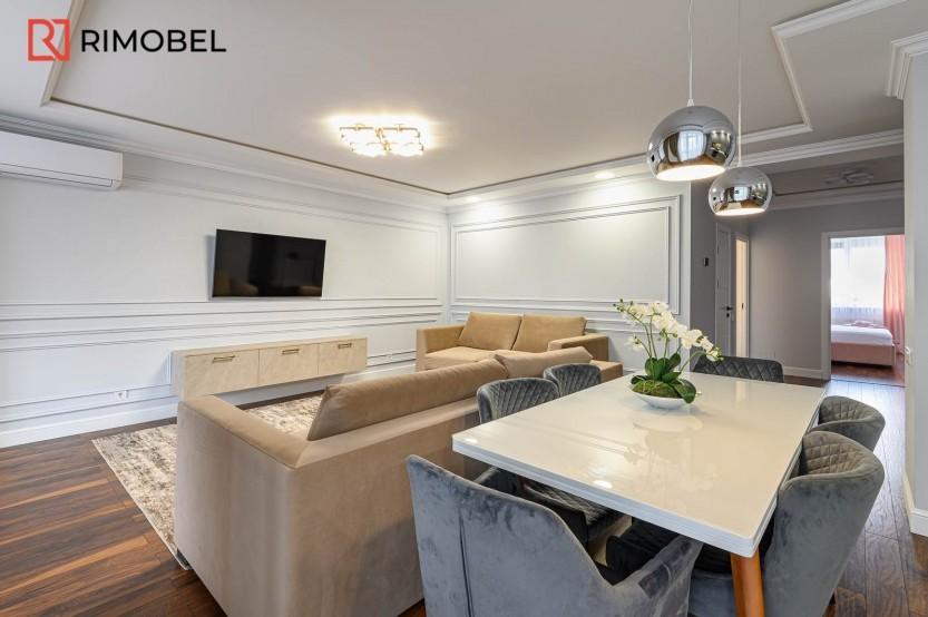 Квартира в скандинавском стиле ул. N.Testemieanu 3 Кухни неоклассика la comanda chisinau