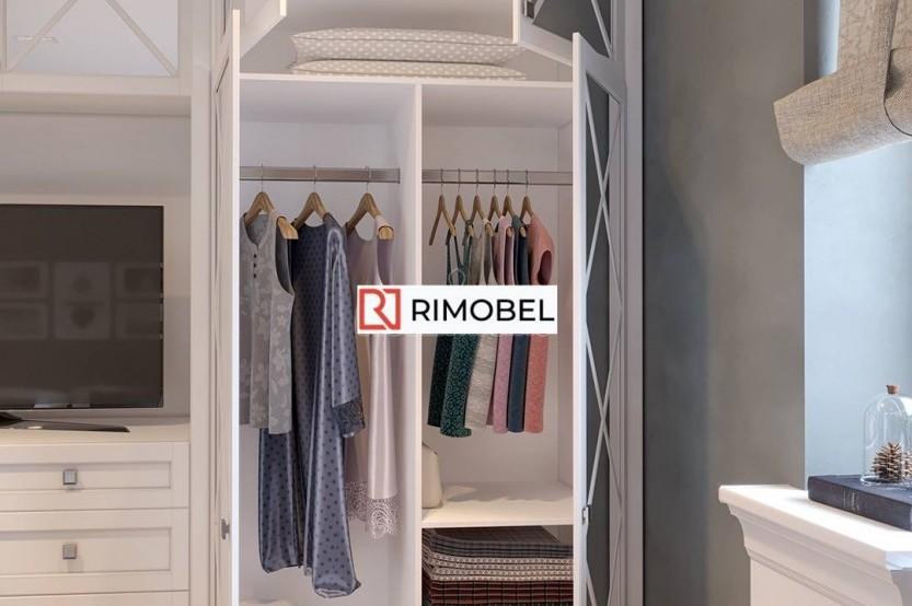 Шкаф в гостиную с нишей под телевизор Классические шкафы mobila